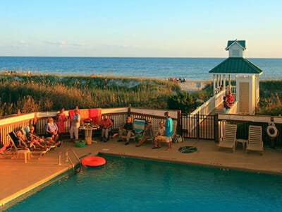 St James Plantation oceanfront swimming pool and beach access