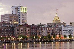 Savannah Georgia Waterfront | Best Retirement Cities