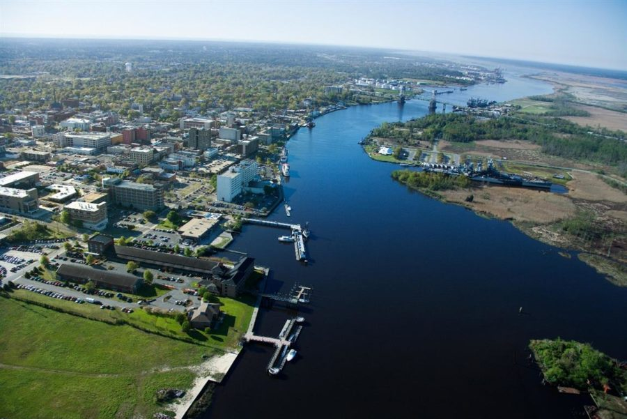 Wilmington NC and the Cape Fear River