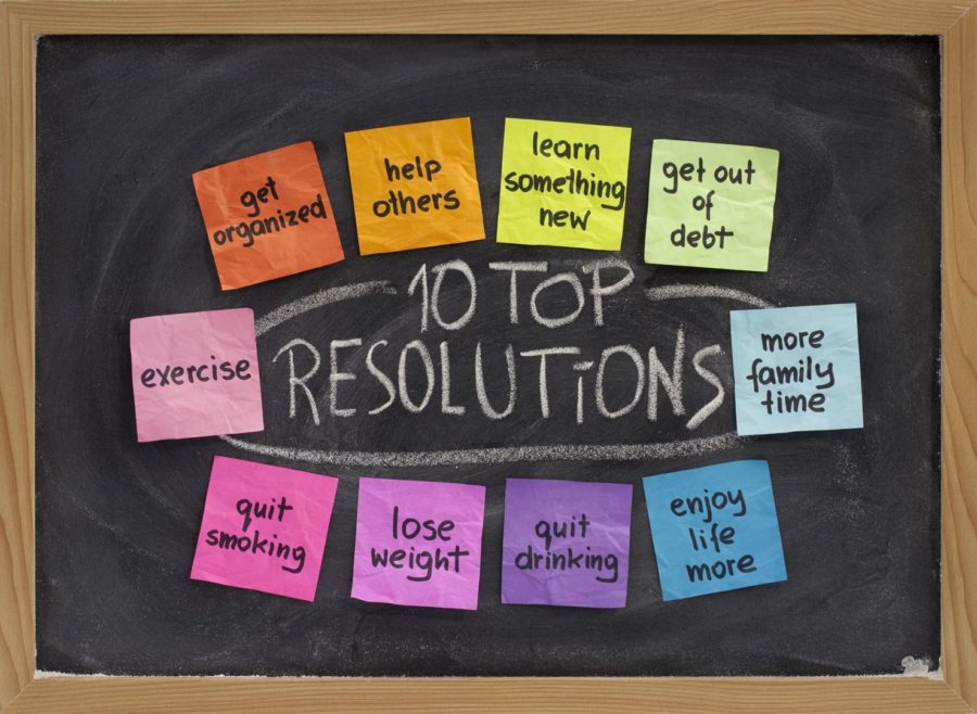 New Year's 2015 - New Year's Resolutions - Top Resolutions - Keeping Resolutions