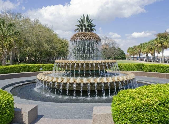 Beautiful Water Fountain in Charleston, SC