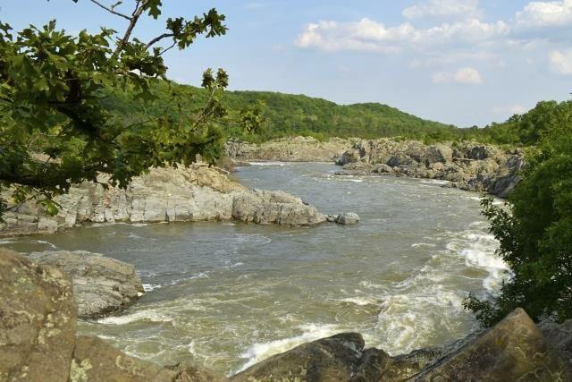 Great Falls on Potomac River in Virginia