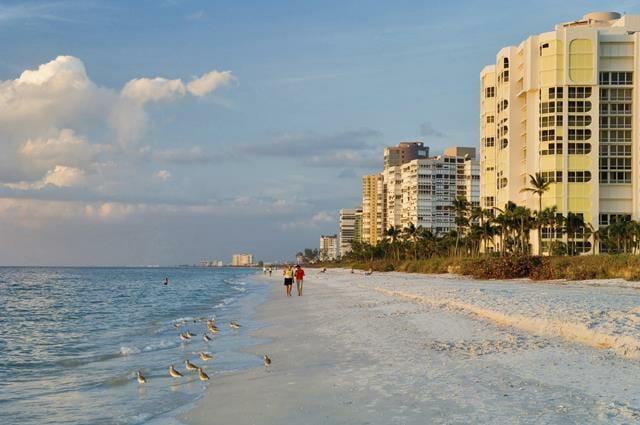 Naples Florida Retirement | Walking on the Beach | Retire to Florida