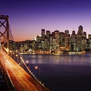 San Francisco Skyline & Bridge