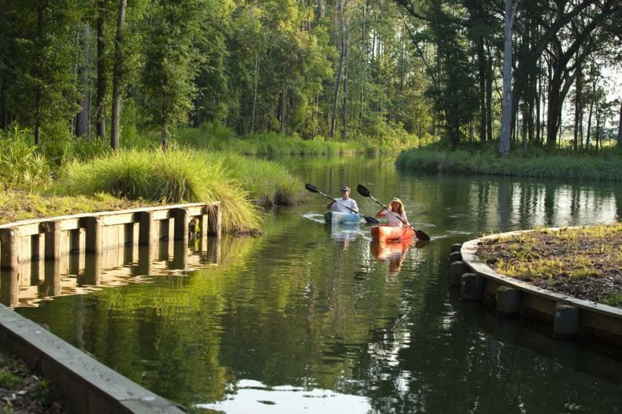 Residents Kayaking
