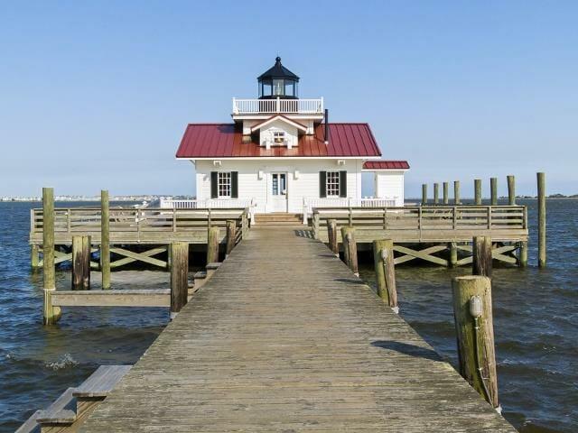 Roanoake Marshes Lighthouse