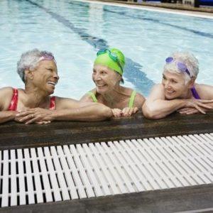 Neighborhood amenities include swimming pools