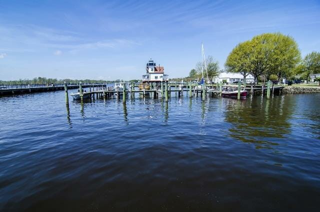 waterfront downtown of edenton nc