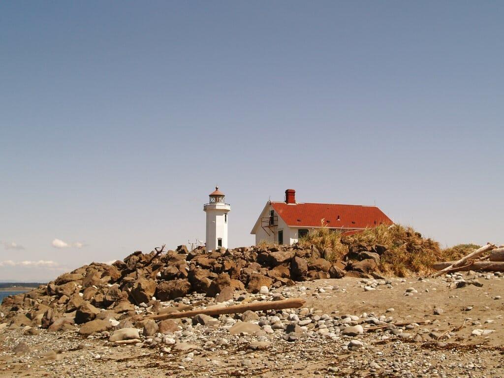 By a Lighthouse