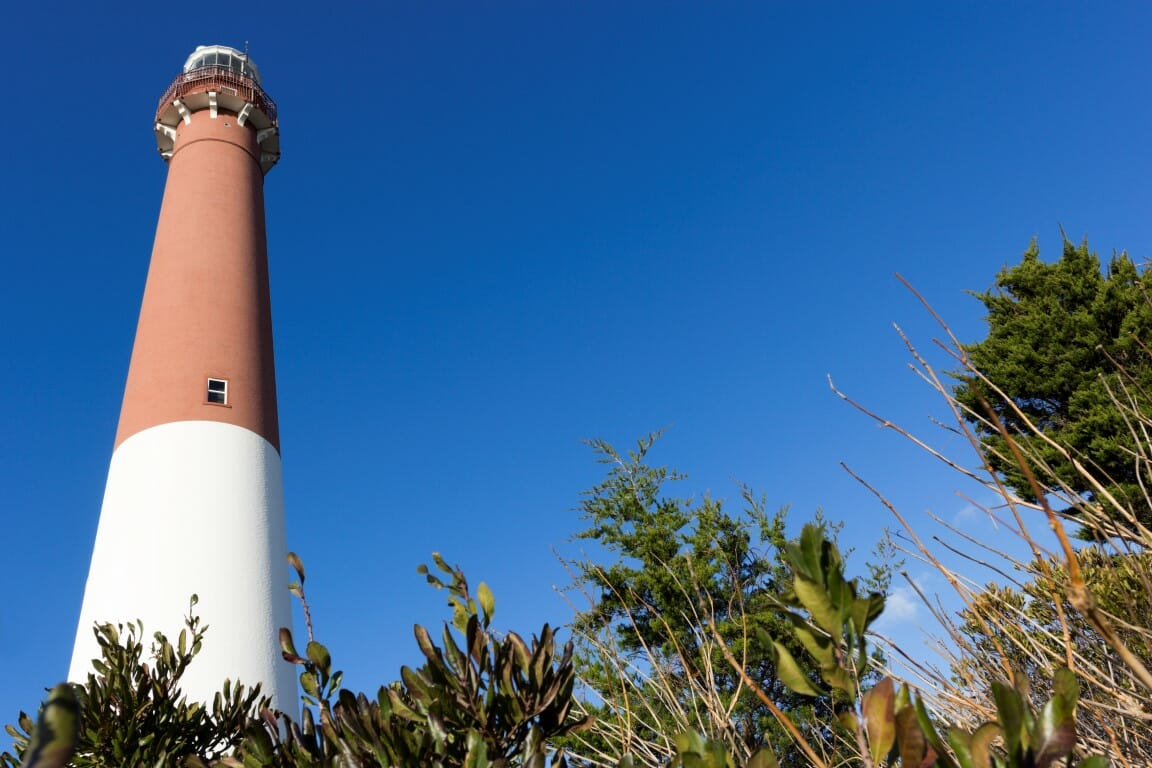 Barnegat Lighthouse in New Jersey