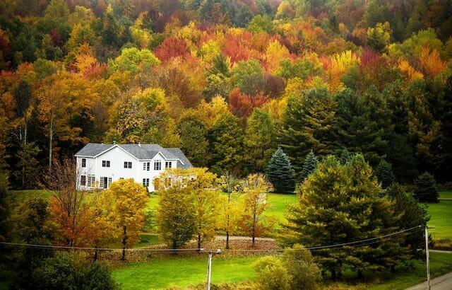 Autumn's patchwork quilt