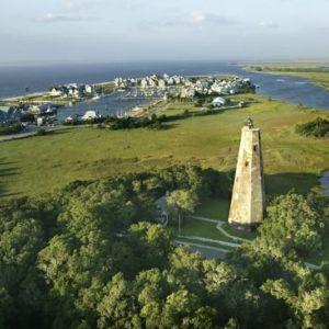 Bald Head Island NC - Old Baldy Lighthouse - Best Places to Retire in North Carolina - Coastal Destinations