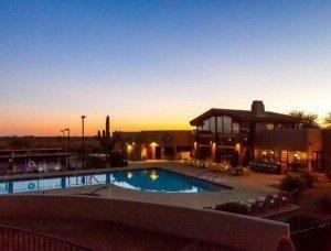 Arizona Retirement Communities - Resort Communities - Montesa at Gold Canyon - Golf Canyon AZ - Clubhouse Pool