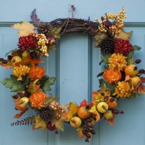 Holiday Prep - Thanksgiving - Autumn Wreath