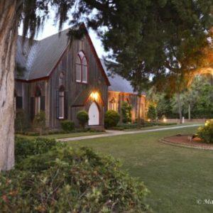 South Carolina Retirement Destinations - Baynard Park - Bluffton SC - Historic Church in Bluffton