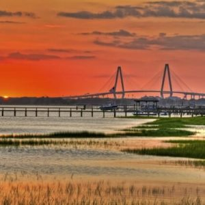 Charleston Sunset - South Carolina Retirement Communities - Carolina Walk at Towne Centre - Mt. Pleasant SC