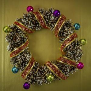 Pine Cone Wreath - Christmas Wreath - Christmas Decor