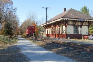 Railway Depot and Museum at Potter Place