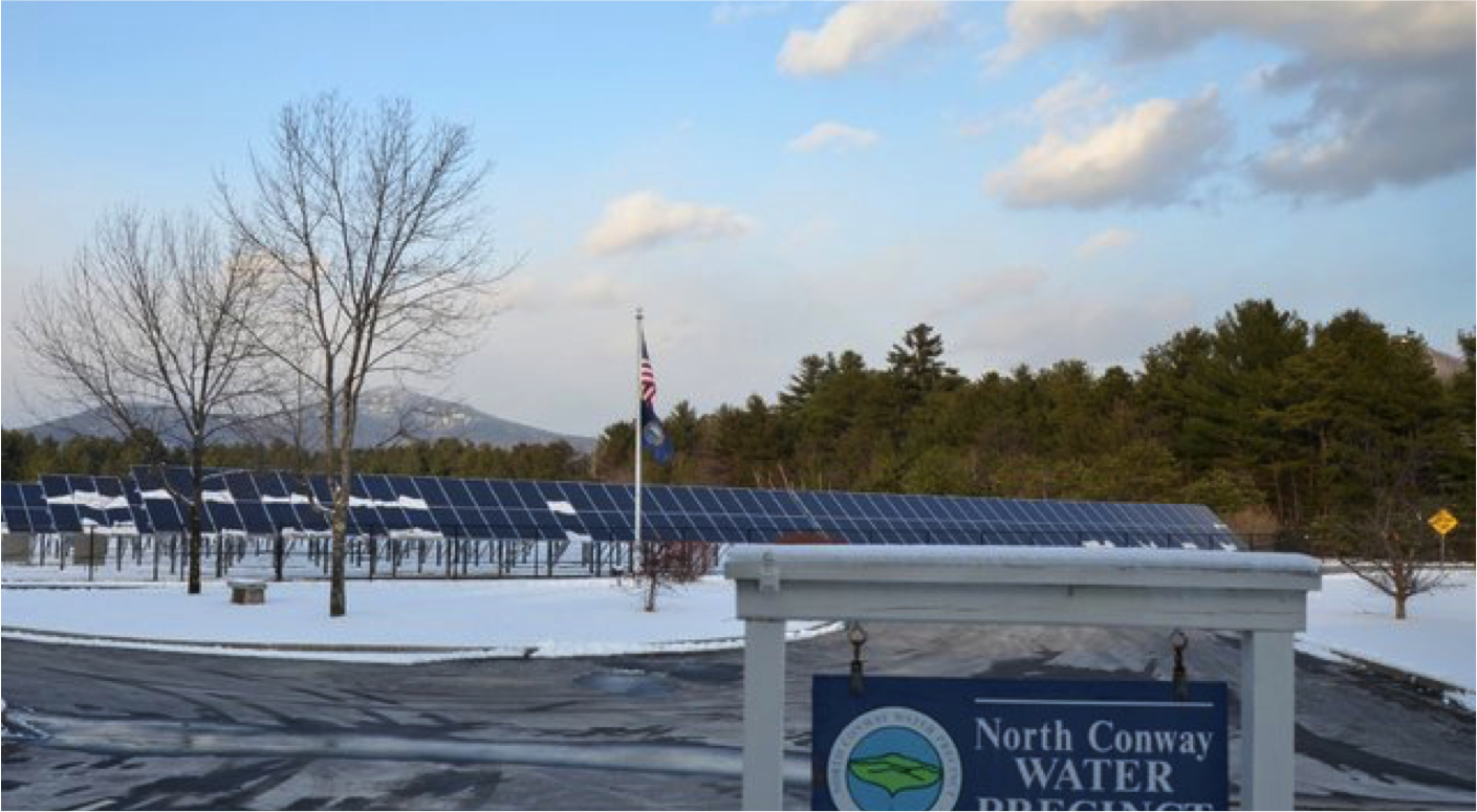 Conway Water Treatment Plant solar Array