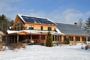 Solar Panels on Conway Home. Susan GoldsmithJPG