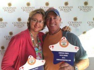 Founder of Real Estate Scorecard Margie Casey and her husband Dennis.
