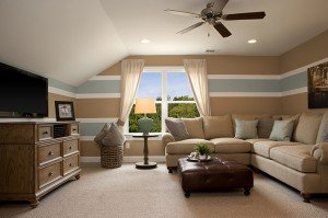 Versatile loft delivers a perfect space for the grandkids.