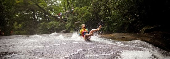 Fireworks and Swimming Holes in North Carolina