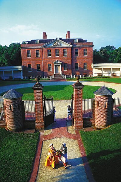 Tryon Palace, rebuilt on the site of Colonial Governor William Tryon's grand home in New Bern, is the centerpiece of a complex that covers three centuries of North Carolina history.