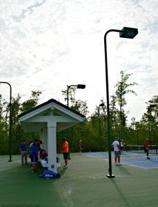 BRUNSWICK FOREST CELEBRATES GRAND OPENING OF NEW PICKLEBALL COURTS