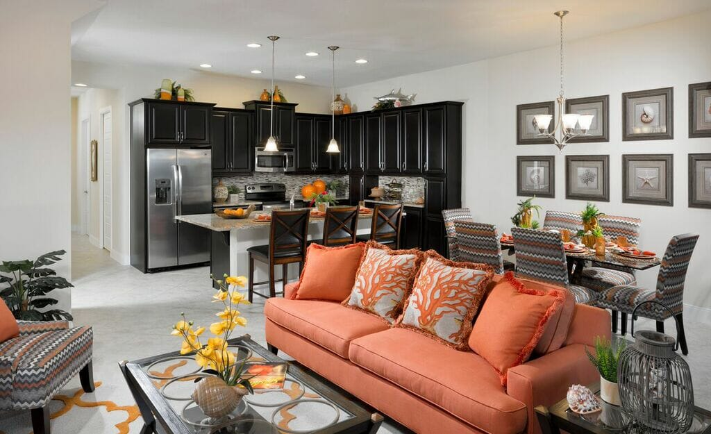 Minto's Jubilee model at Festival includes four bedrooms, four baths, great room and game room.