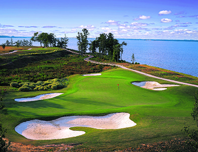 Play Golf in a beautiful location