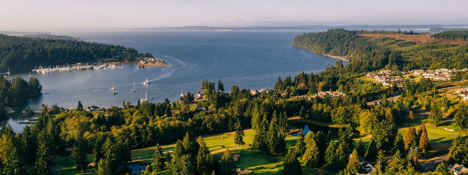 Active Adult Community near Seattle WA | Port Ludlow | Waterfront Homes