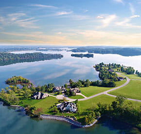 WindRiver | Gated Golf Luxury Community near Knoxville TN | Tellico Lake