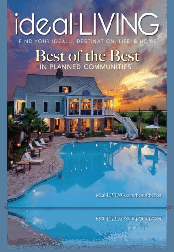 Ideal Living Magazine Reflection
