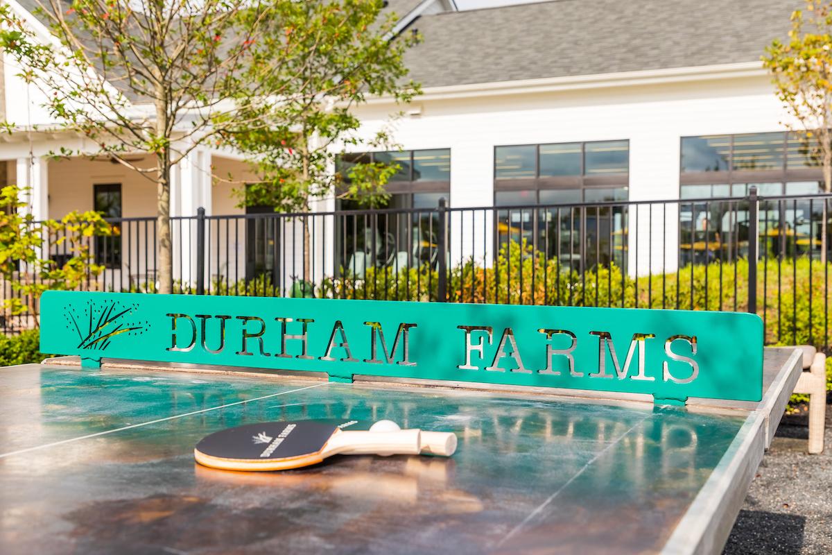 Durham Farms Farmhouse Ping pong