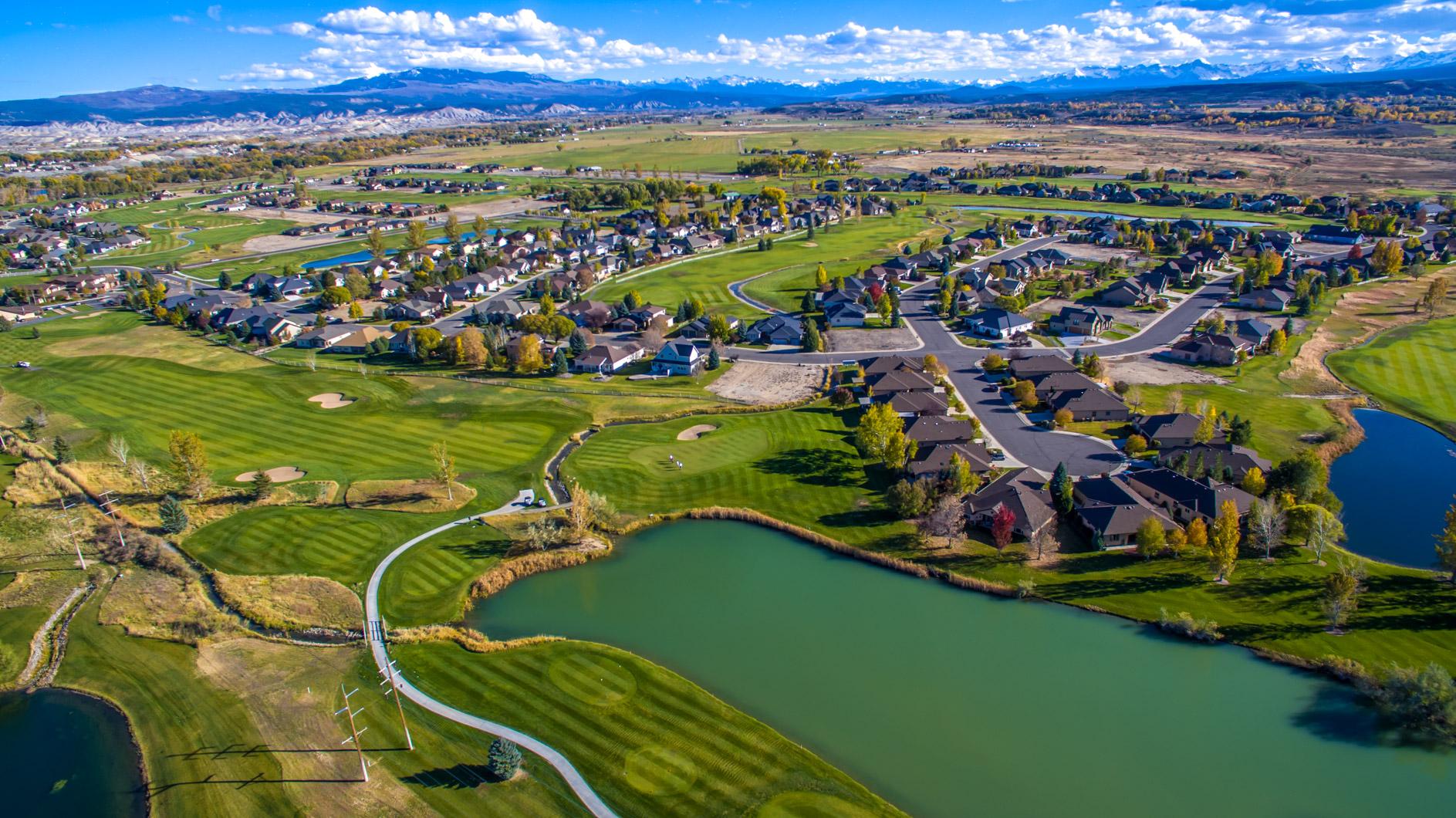 Homes near Grand Junction CO   Cobble Creek   Montrose San Mountains