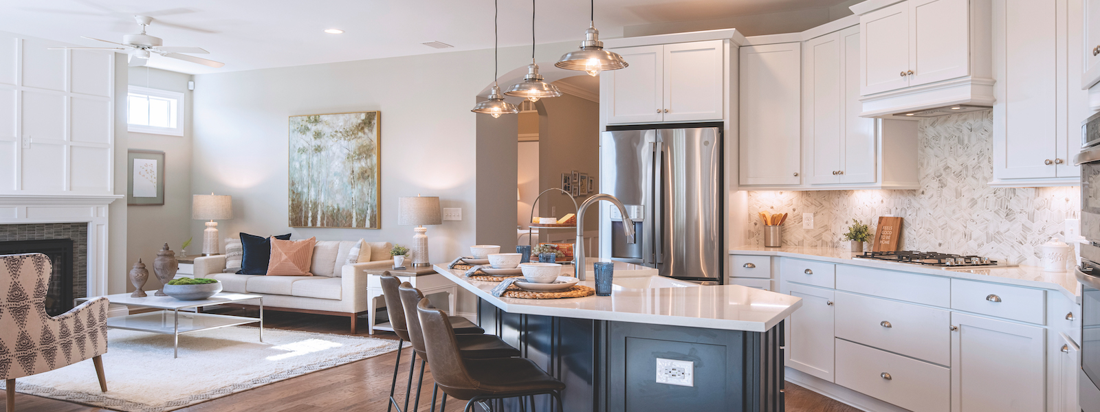 Luxury Homes in Charlotte NC | The Courtyards at Mint Hill